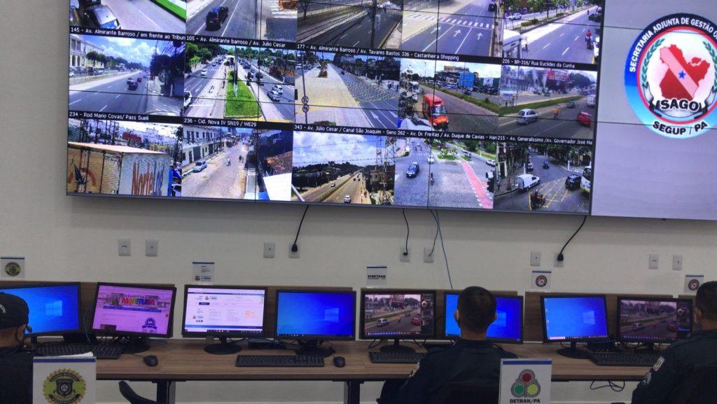 SeMOB dá apoio ao Centro Integrado de Monitoramento da SEGUP